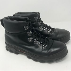 Polo Ralph Lauren Hainsworth Leather Hiking Boots